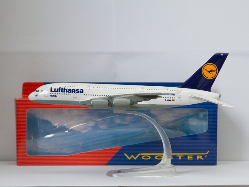 Magnets For Cars >> Online-Shop - Herpa Wooster/Wings 607032 Airbus A380 Lufthansa 1:250 - Miniatur Wunderland