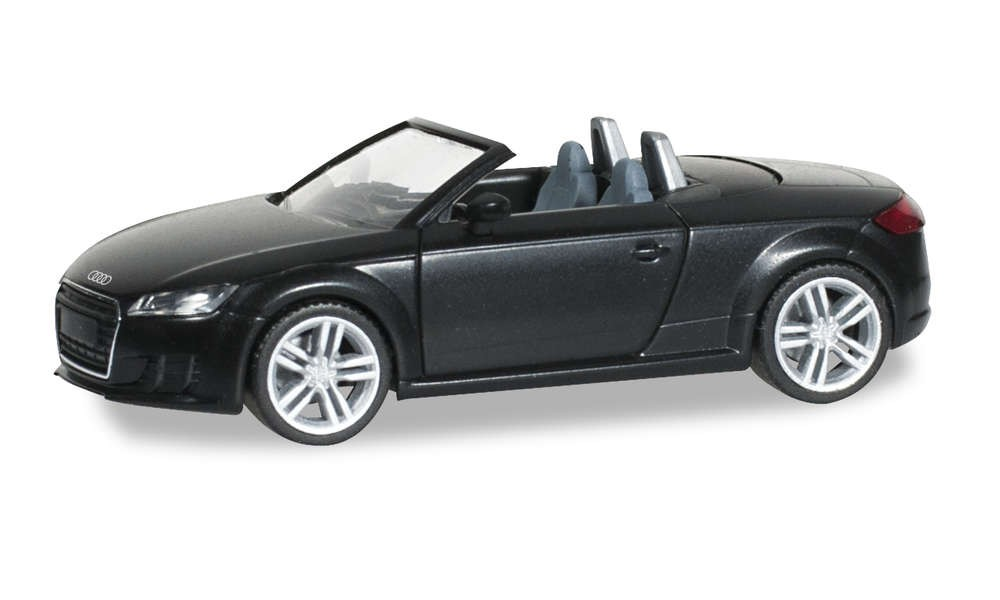 Herpa 028400 Audi TT Roadster - brillantschwarz