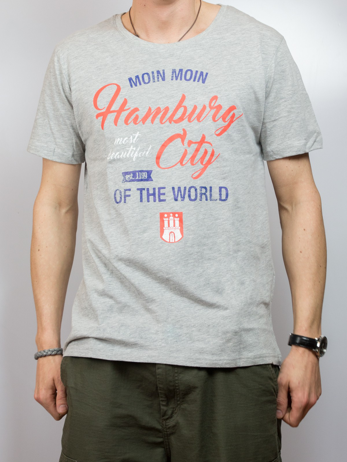 "T-Shirt ""Moin Moin Hamburg City"""