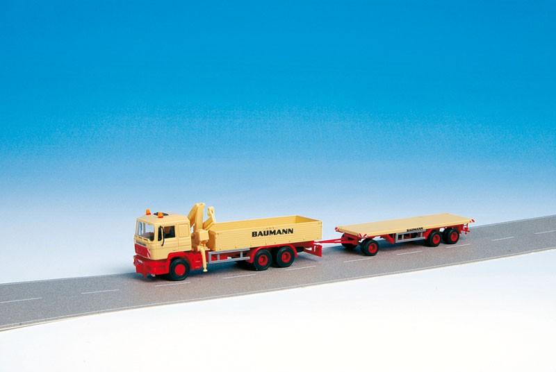 Kibri H0 13586 MAN Platform Truck