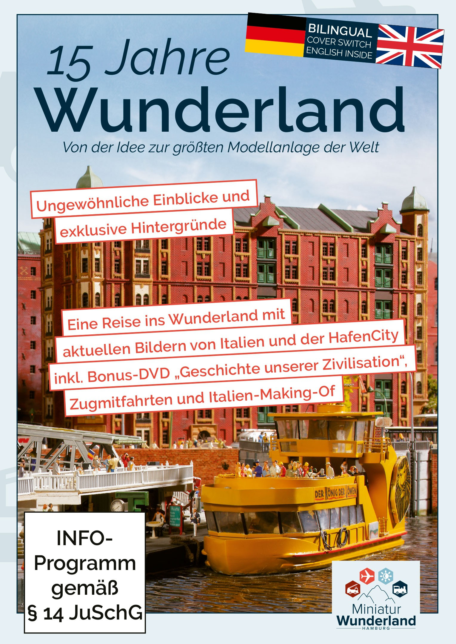 Wunderland DVD 15 Years of Wunderland