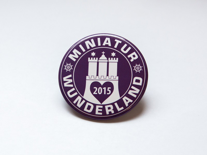 Collectible Magnet Miniatur Wunderland 2015