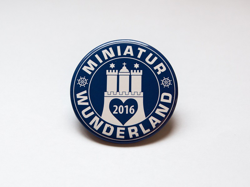 Collectible Magnet Miniatur Wunderland 2016