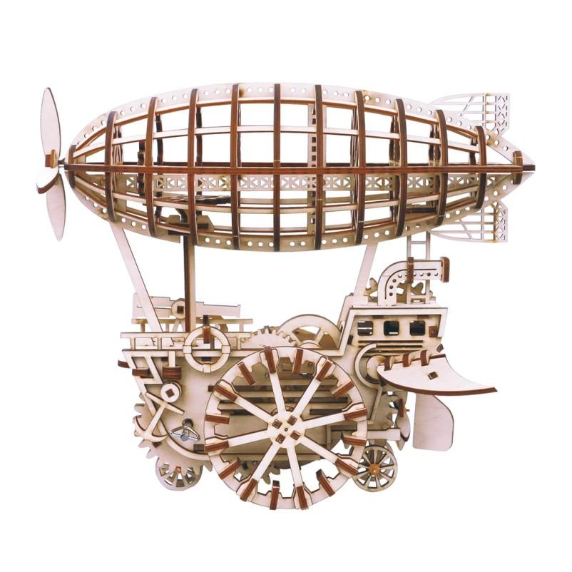 Airship 3D Puzzle Wood - Robotime ROKR LK702