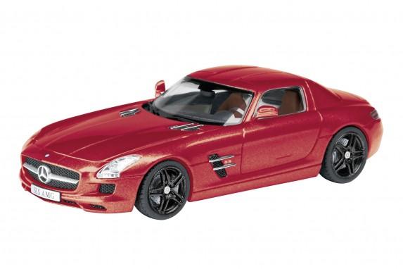 Schuco 25855  - Mercedes Benz SLS, red