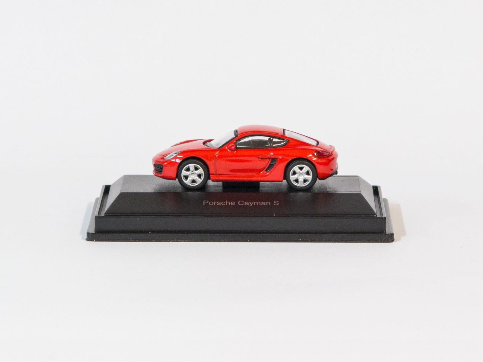 Schuco 26109 H0 Porsche Cayman S (rot)