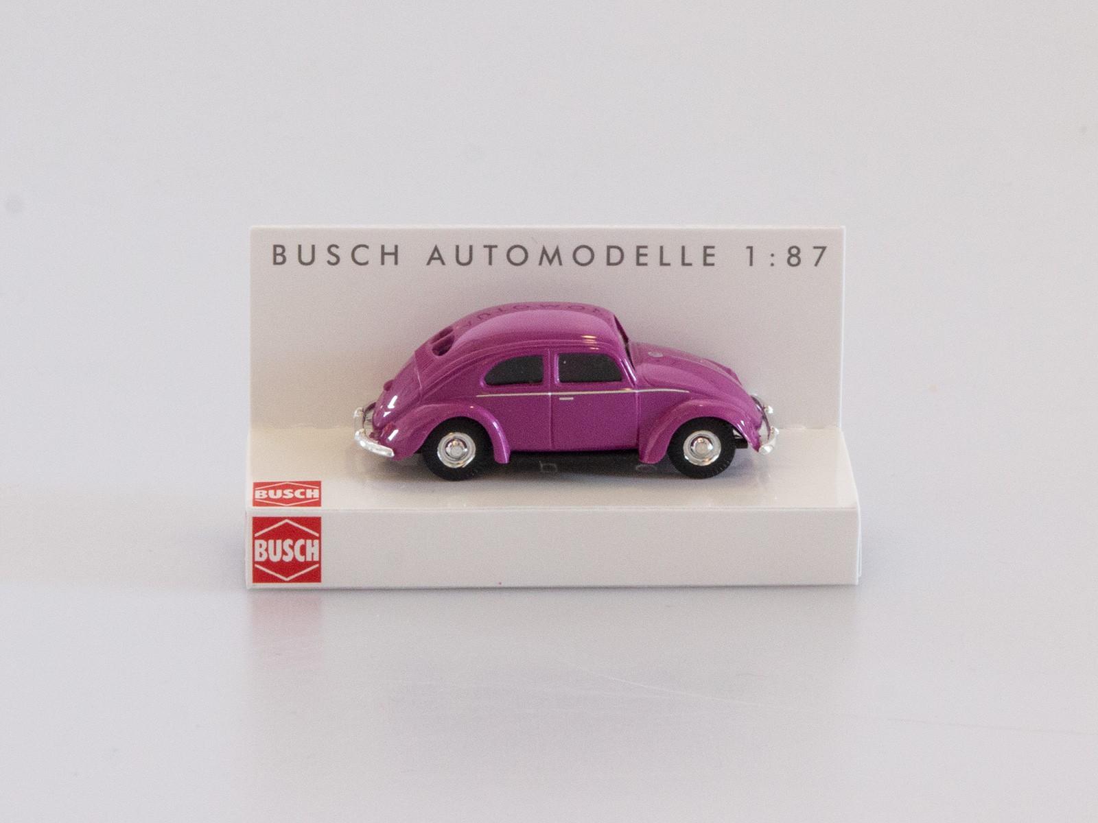 Busch 42700-112 VW Käfer mit Brezelfenster lila