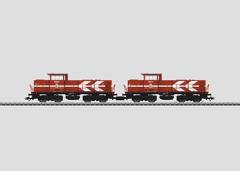 Maerklin 37630 2x MaK DE 1002 HGK