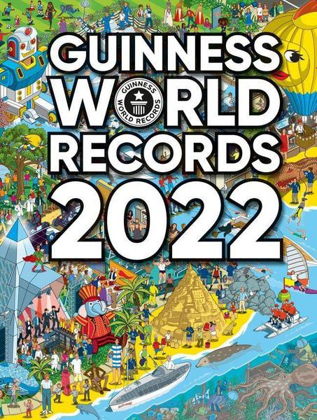 Guinness World Records 2021 - with signature of Frederik & Gerrit