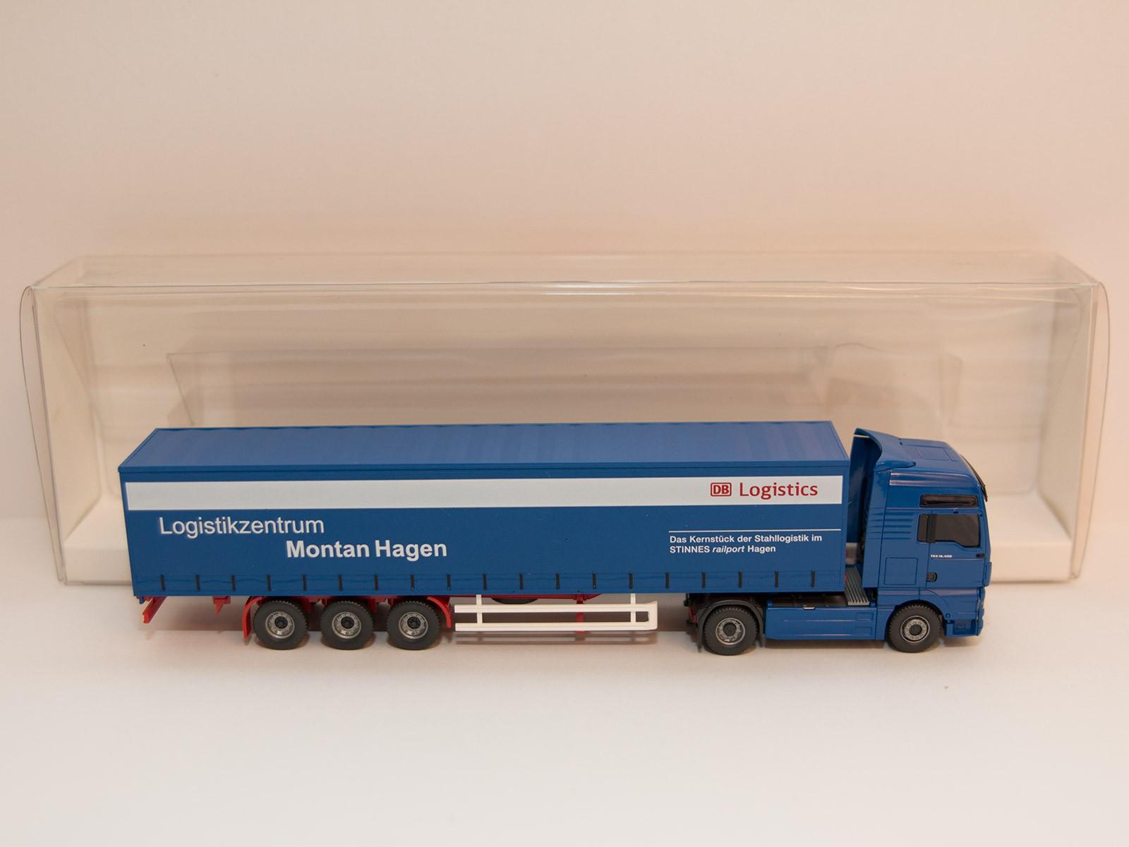 """Wiking H0 5370546 MAN TGX large truck """"Montan Hagen"""""""