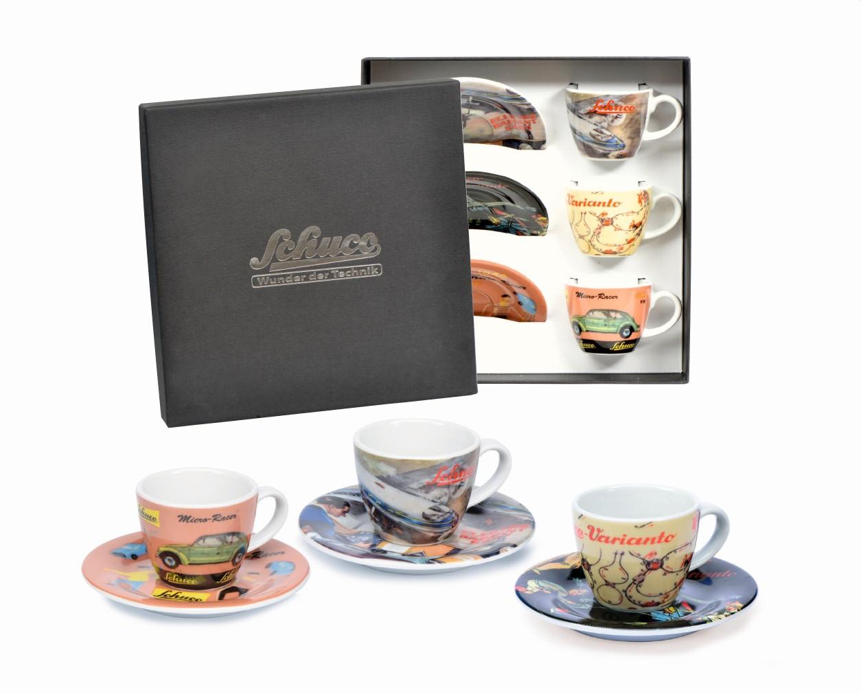 Schuco 450986900 Espressotassen Set II
