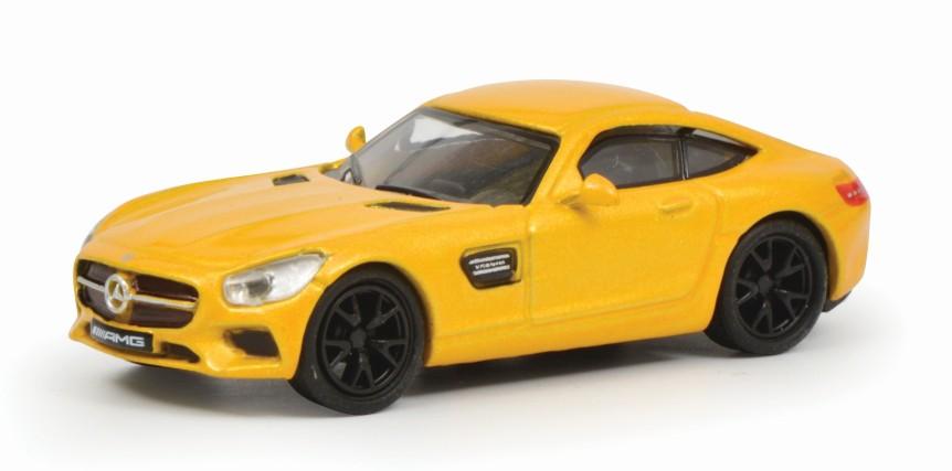 Schuco 452634200 Mercedes Benz AMG GT Gelb 1:87