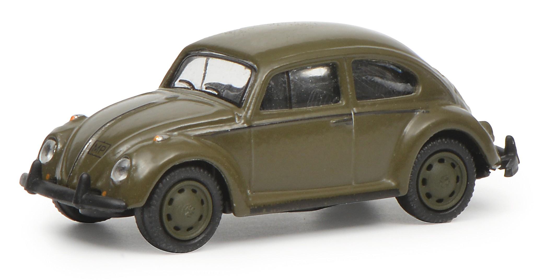 Schuco 452643100 VW Käfer 1200 Bundeswehr olive