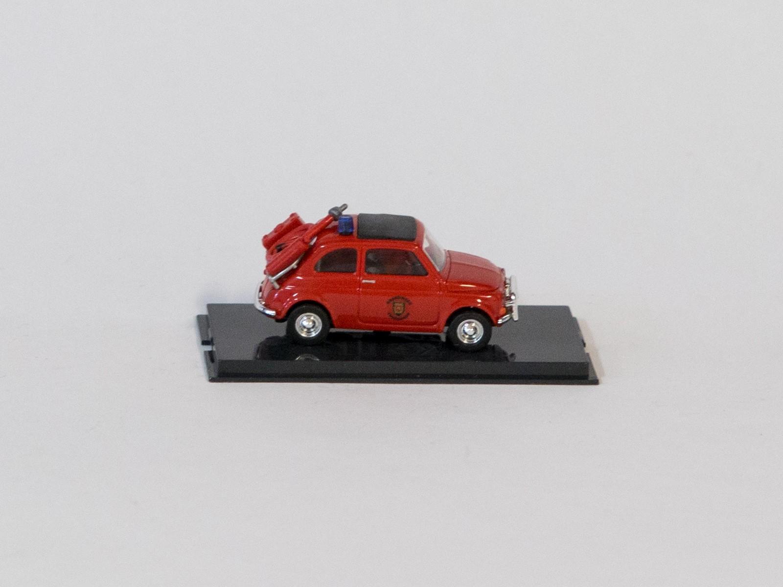 """Busch 48718 H0 Fiat 500 """"Feuerwehr NL"""""""