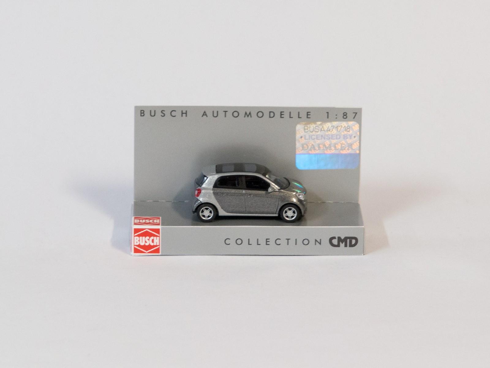 """Busch 49557 Smart Forfour 2014 """"CMD-Collection"""", grau"""