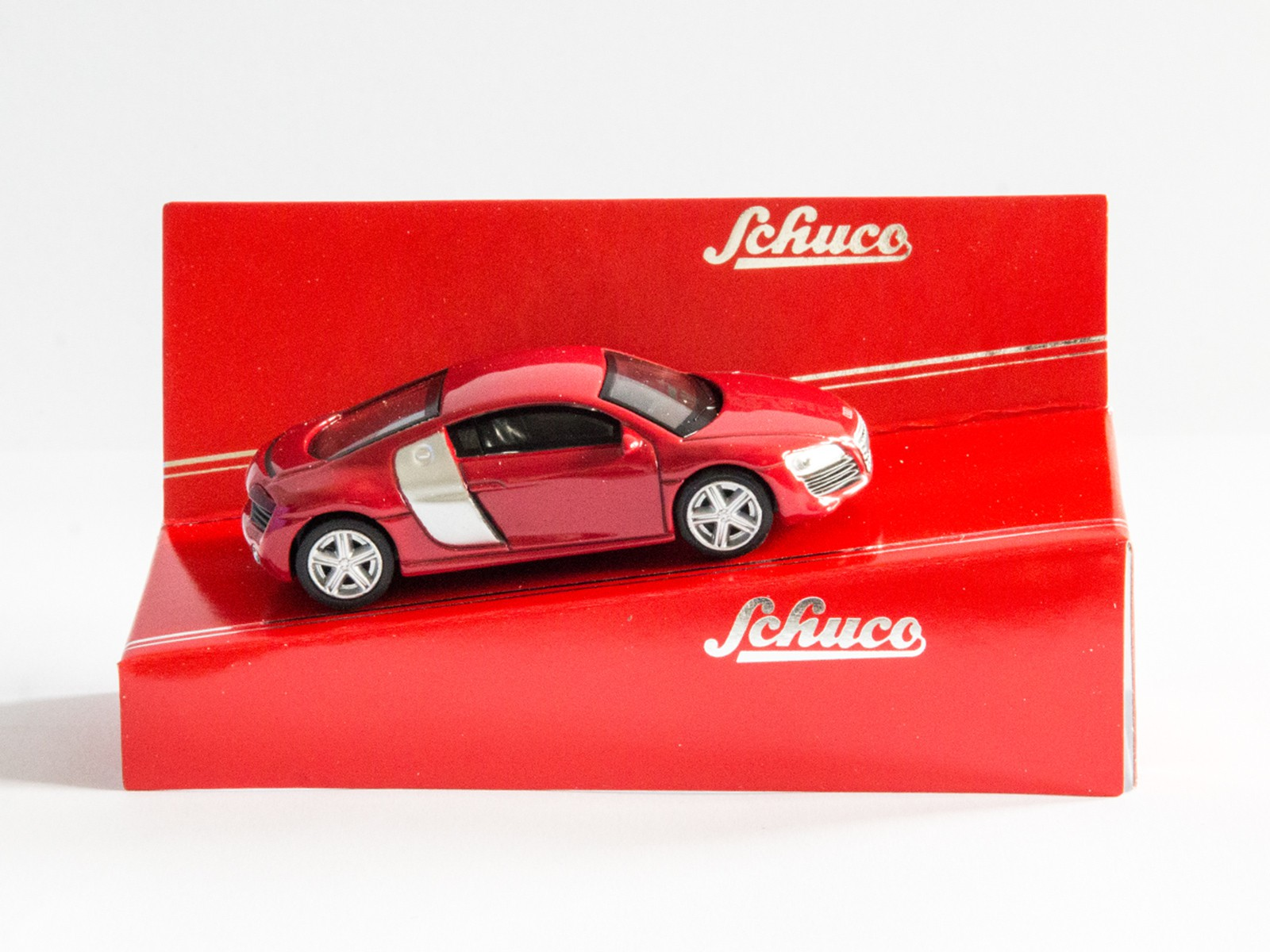 "Schuco 20109 1:64 Audi R8 Coupé  ""rot"""