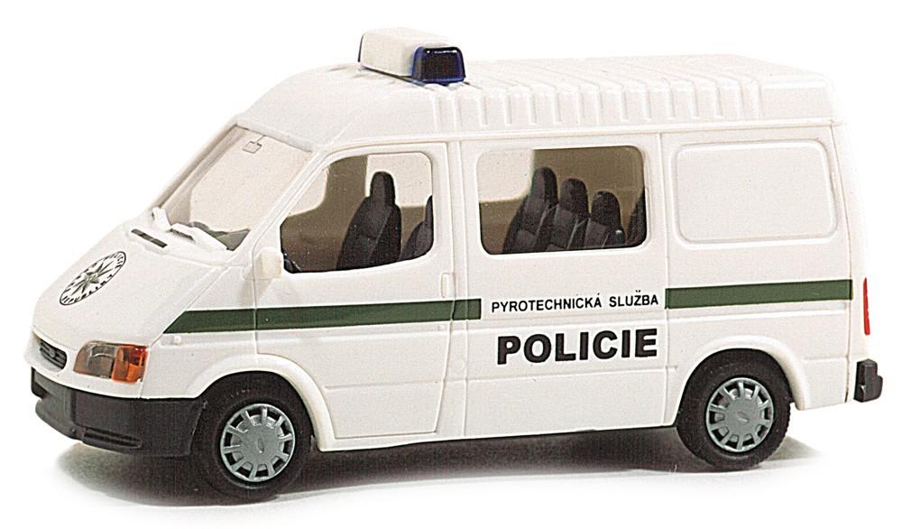 Rietze 50680 Ford Transit Policie (CZ)