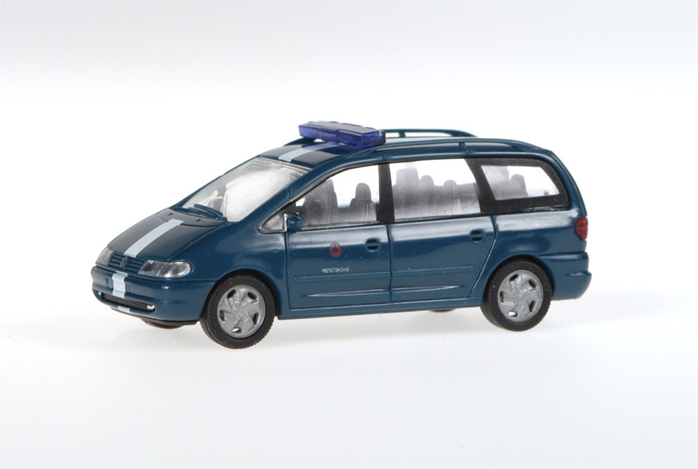 Rietze 50766 Volkswagen Sharan Zivilschutz