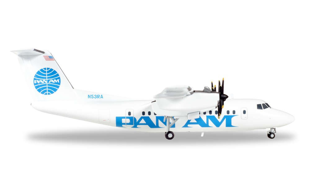 Herpa 558556 Wings DHC-7 Pan Am Express 1:200