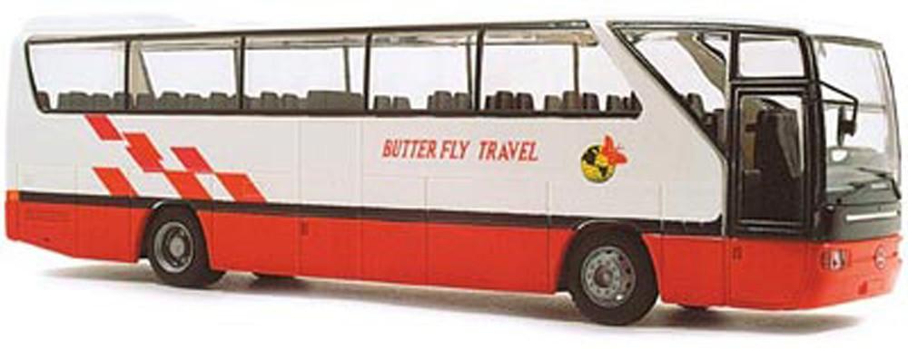 Rietze 61267 Mercedes-Benz O 350 RHD Butterfly Travel