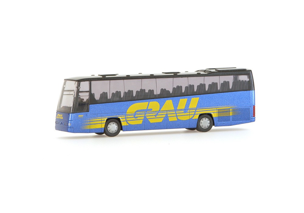 Rietze 61630 Volvo B12-600 Grau Bus Reisen
