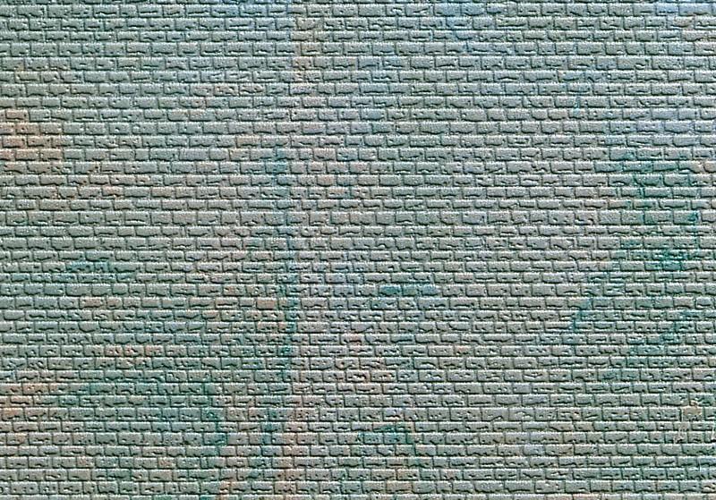 Kibri  6910 Z Mauerpaltte ( regelmäßig mit Abdecksteinen )
