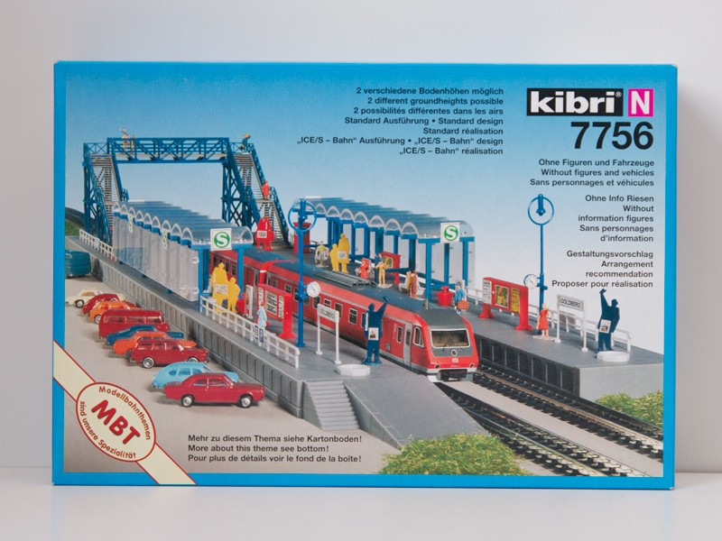 Kibri 7756 urban railway  Steg Goldberg