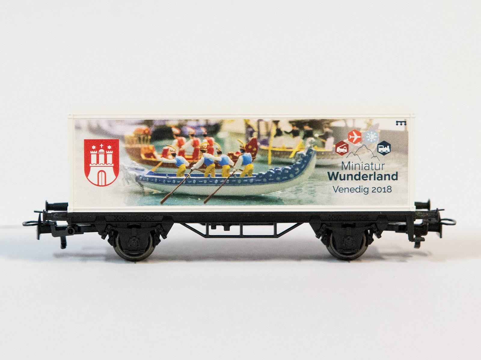 """Sonderwagen Z Miniclub Containerwagen 2018 """"Venedig"""""""