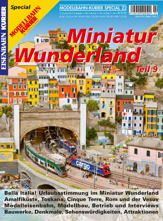 Eisenbahn-Kurier Sonderheft Miniatur Wunderland Band 9