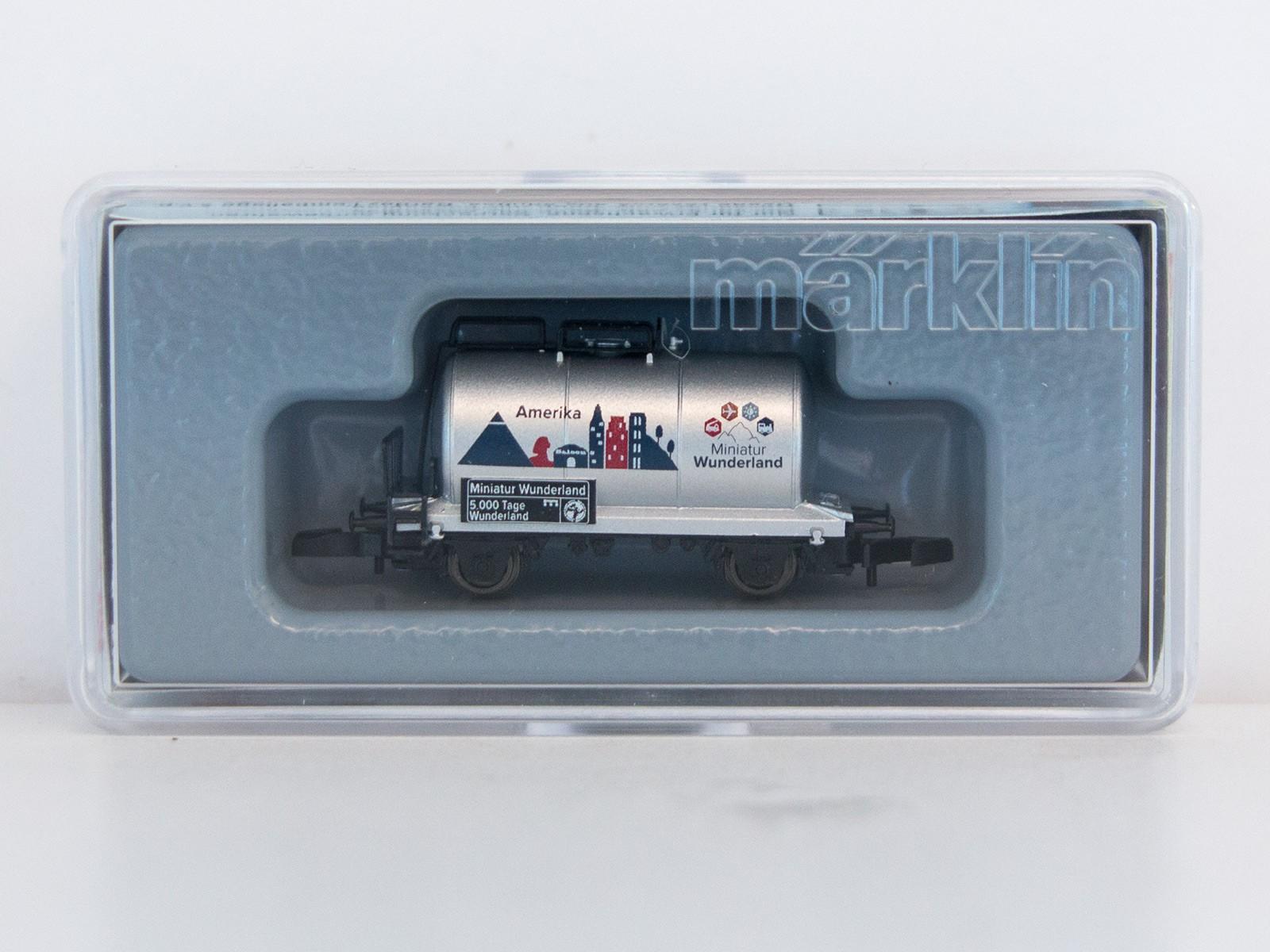 "Special Edition Z Miniclub 2015 tankwagon ""5000 Tage Wunderland - Amerika"""
