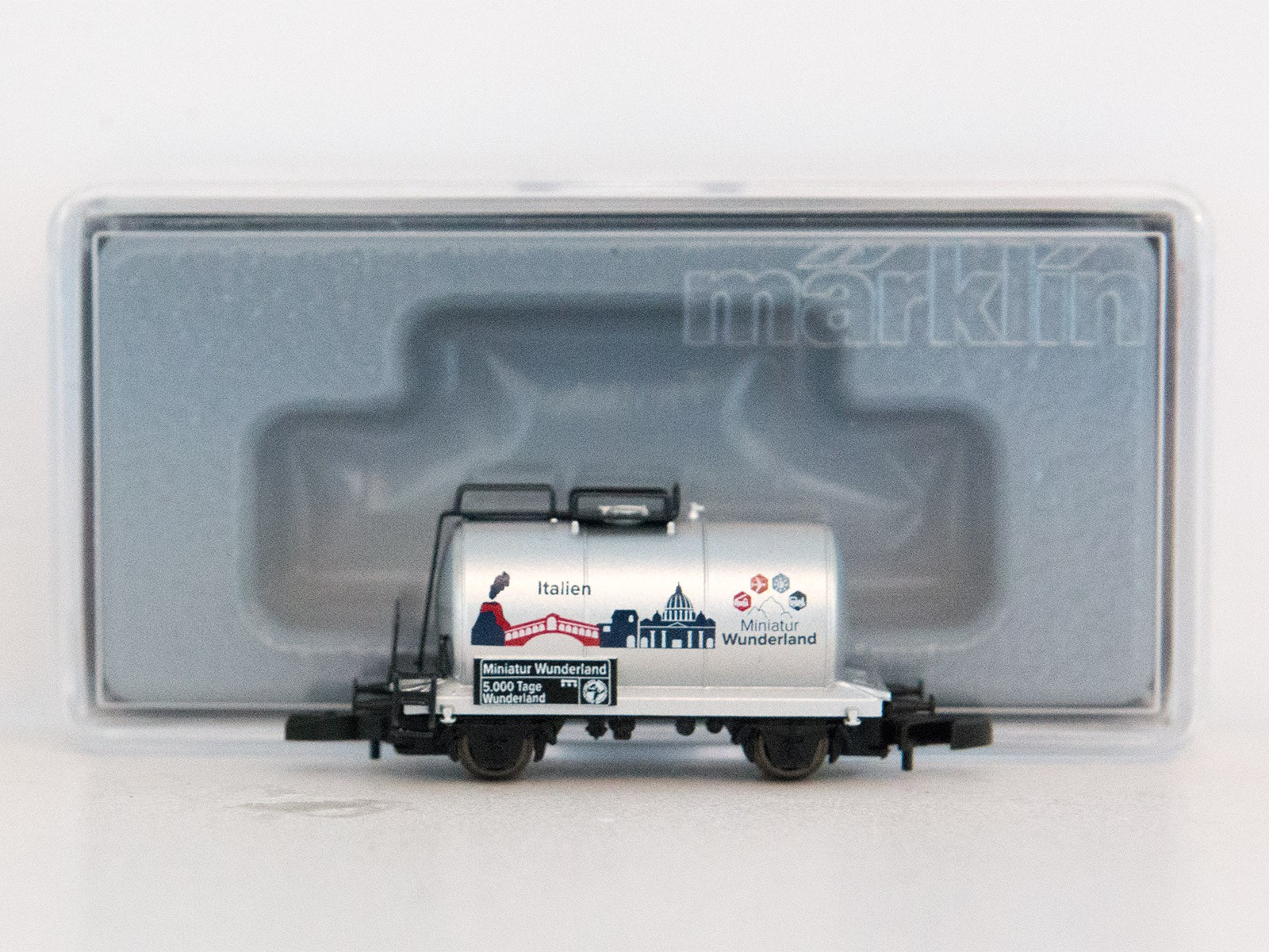 "Special Edition Z Miniclub 2015 tankwagon ""5000 Tage Wunderland - Italien"""