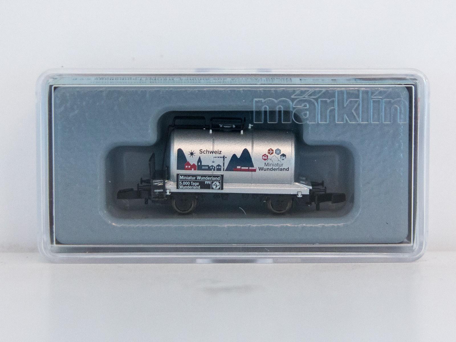 """Special Edition Z Miniclub 2015 tankwagon """"5000 Tage Wunderland - Schweiz"""""""