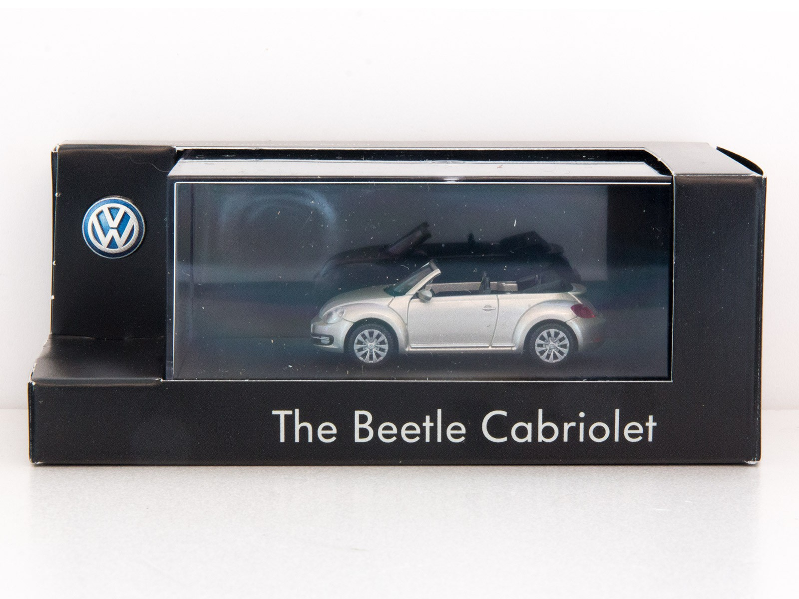 Wiking H0 VW Beetle Cabriolet silver