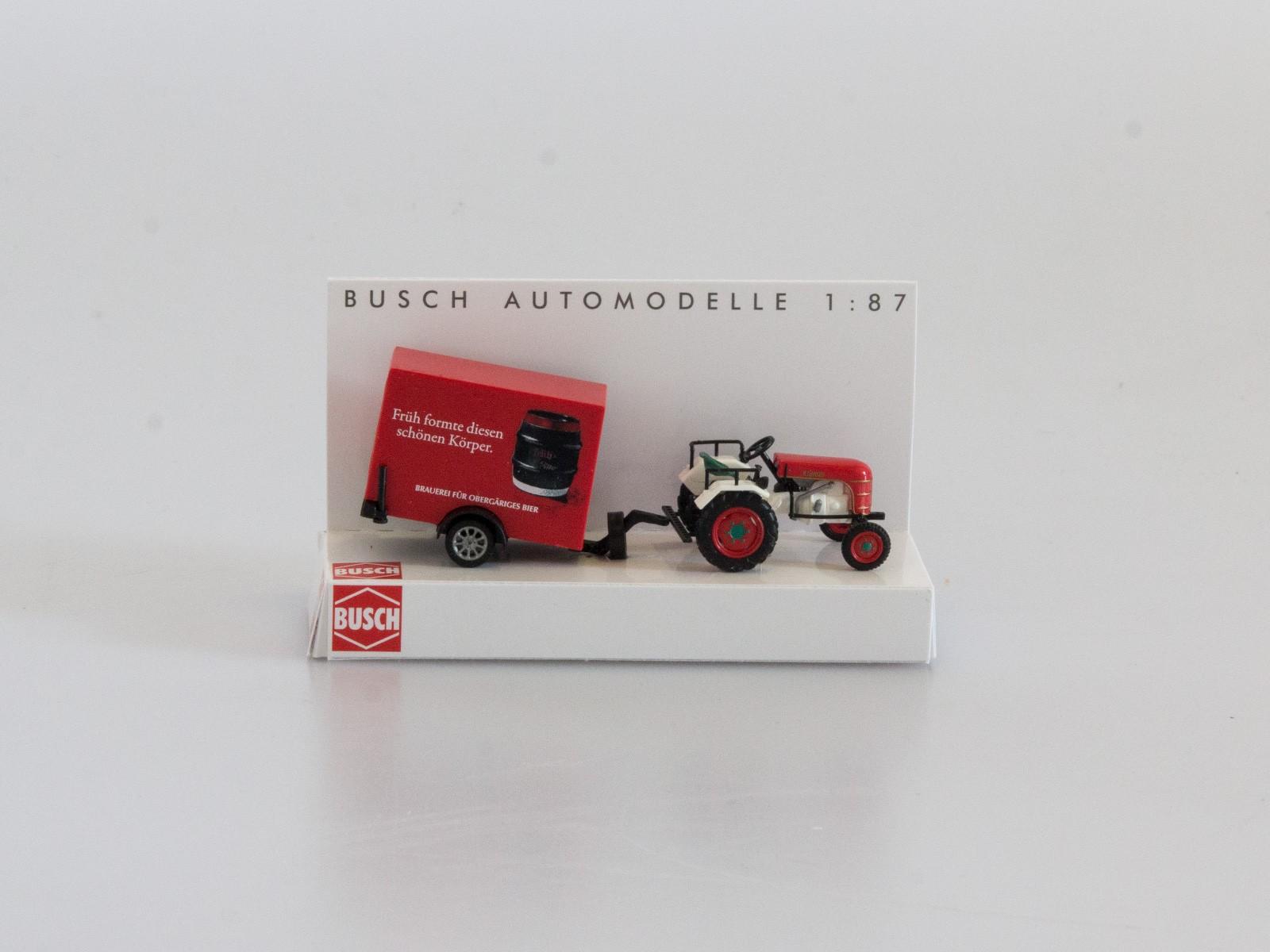 "Busch H0 40063 Traktor Kramer KL 11 ""Früh Kölsch"""
