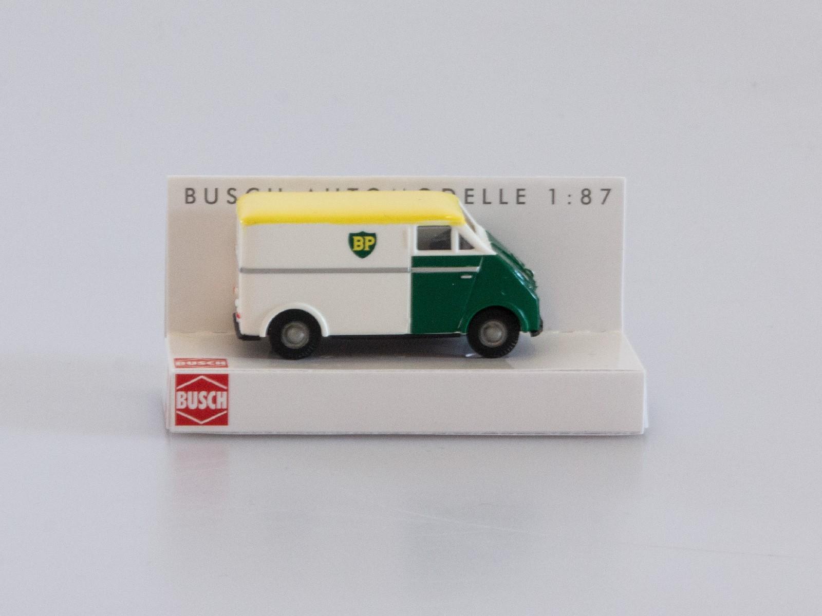 """Busch H0 40918 DKW 3=6 Kastenwagen """"BP"""""""