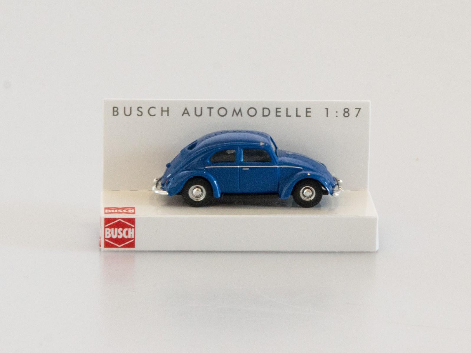 Busch 42700-112 VW Käfer mit Brezelfenster dunkelblau