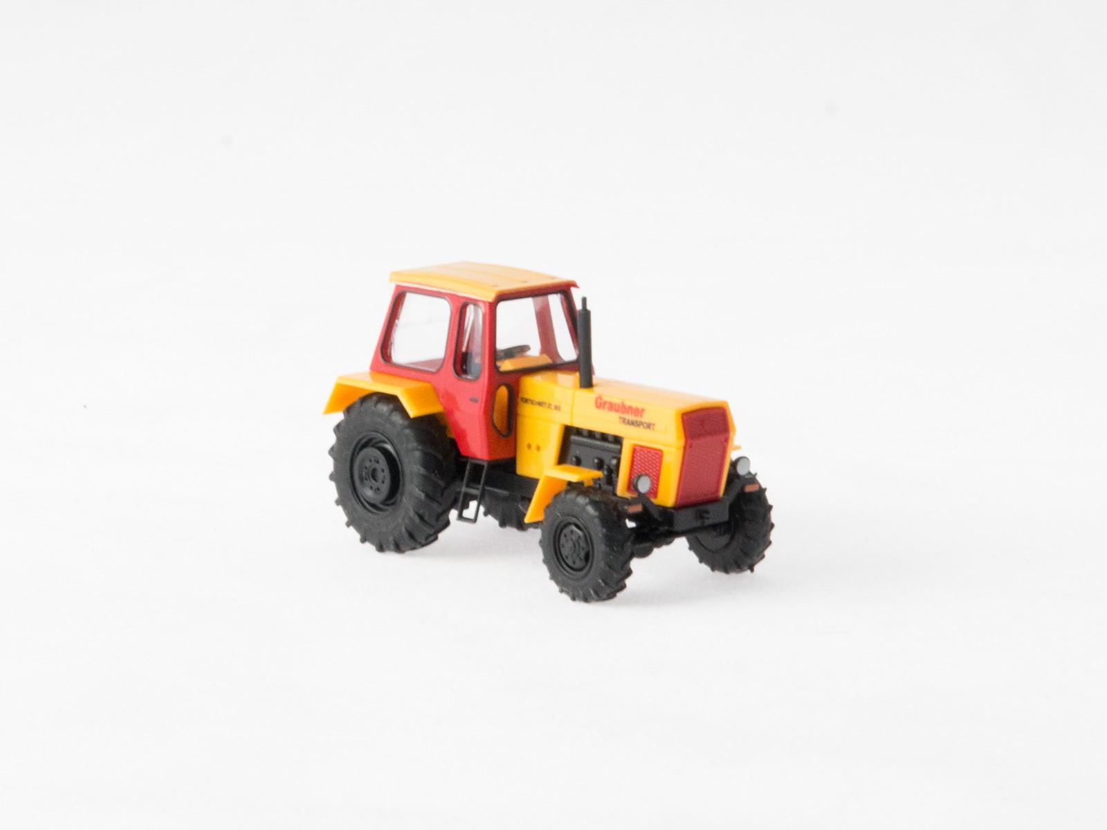 """Busch H0 42824 Traktor Fortschritt """"Graubner Transport"""""""