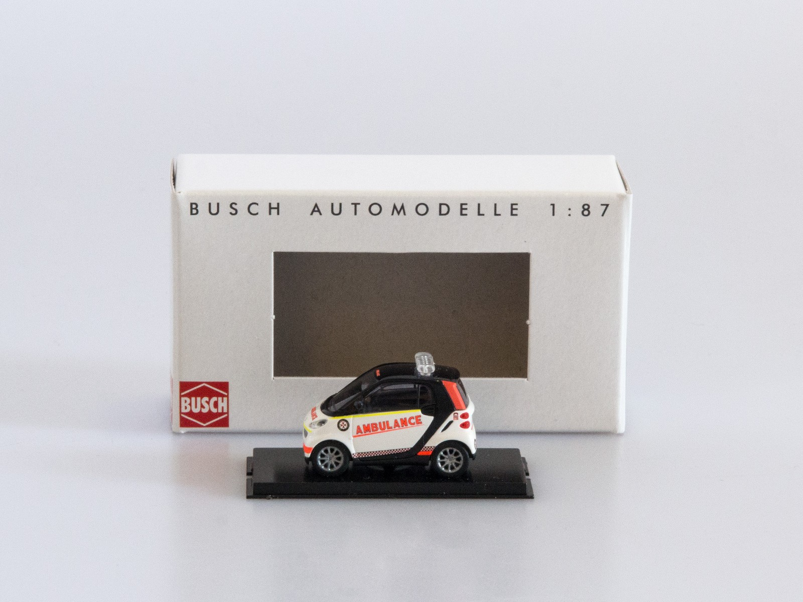 "Busch 46162 Smart Fortwo 2007 ""St. John Ambulance"""