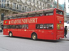 Ticket bus citytour HAMBURG adults