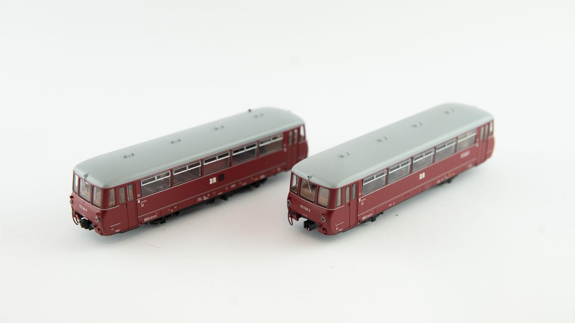 Brawa H0 44084 - electronic railcar ET 65 DB- DC