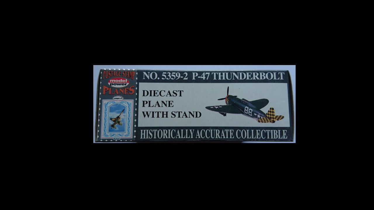 "Model Power P-47 Thunderbolt ""Big Stud"" 1:100"