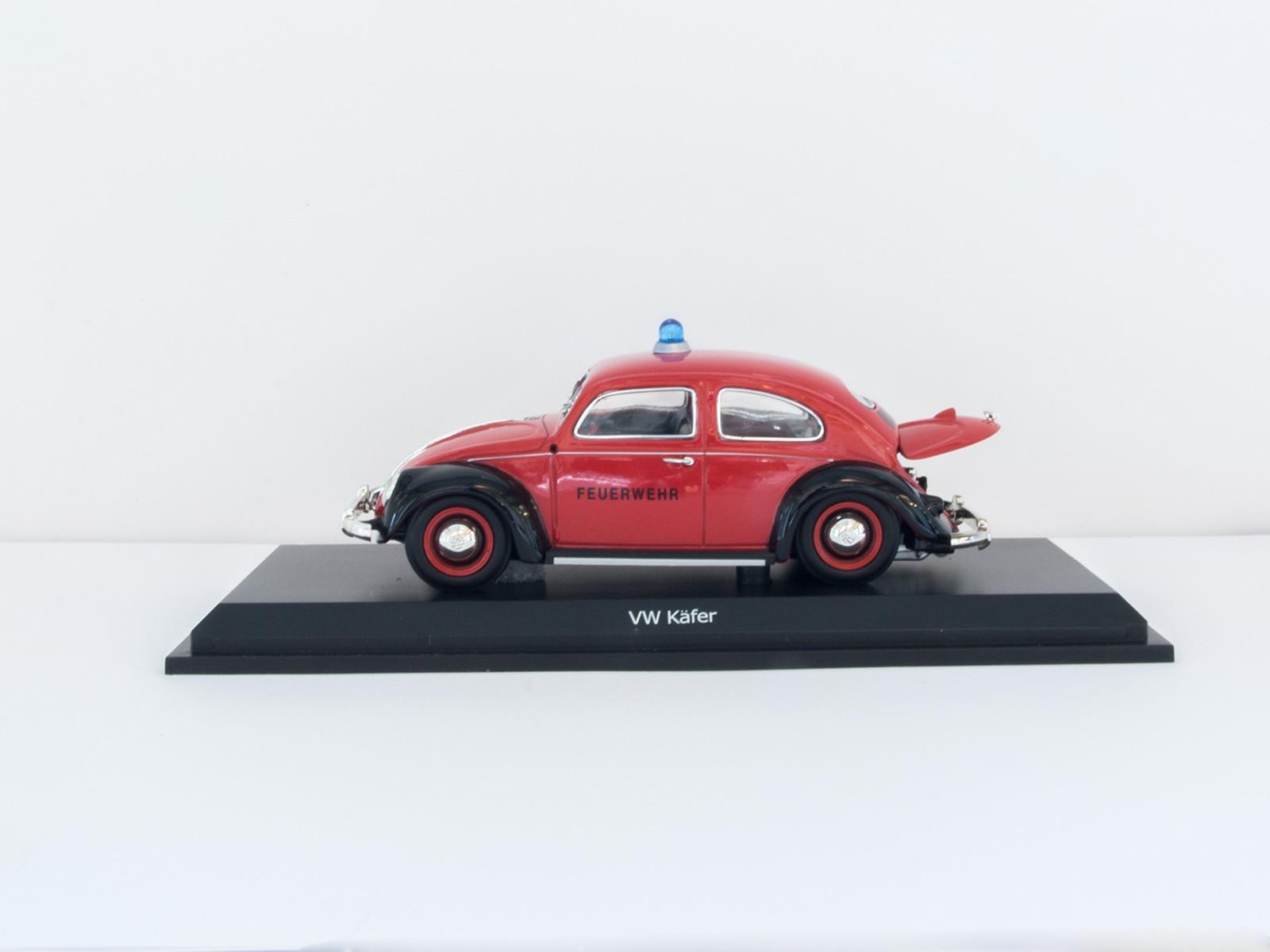 """Schuco 77380 VW Käfer """"Fire Department"""" 1:32"""