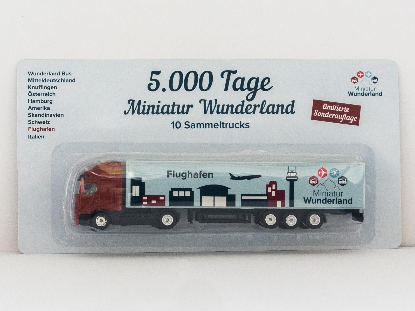 "Truck ""5000 Tage Wunderland"" - Flughafen"