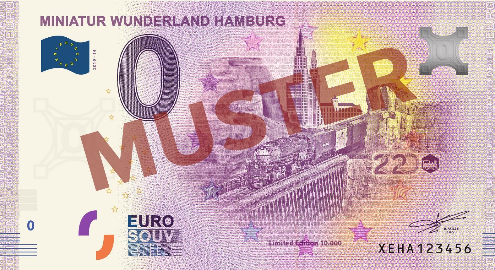 """Euro-Souvenir-Banknote Motif """"BigBoy"""" (2020-14)"""