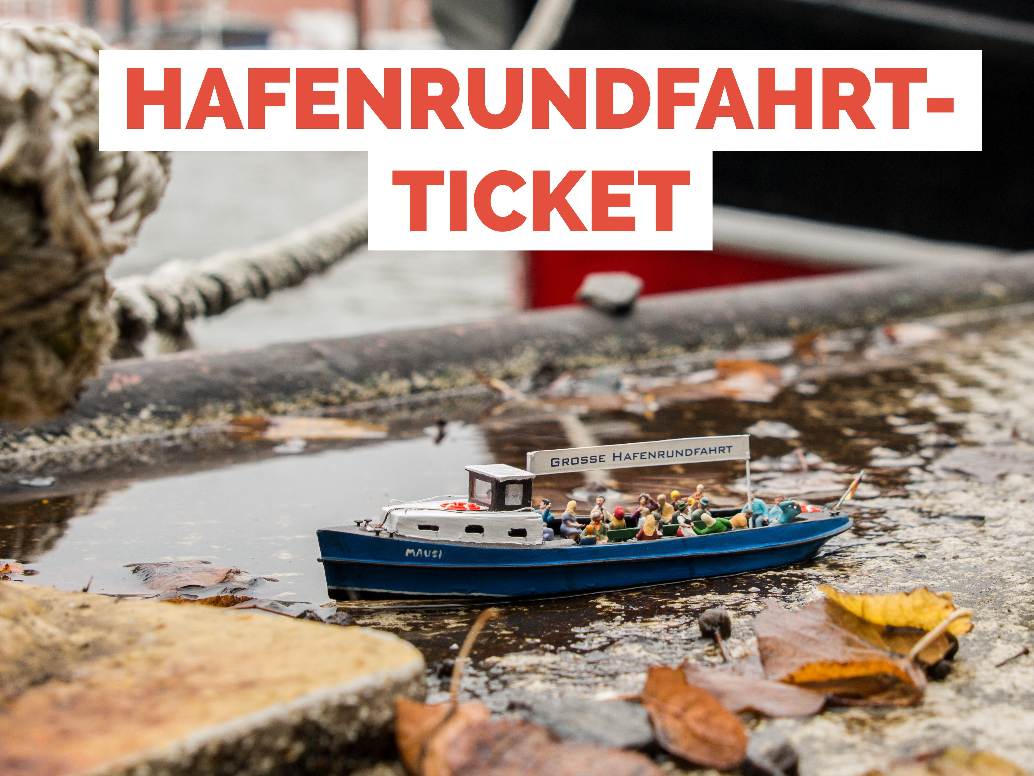 Ticket Hamburg Harbour Tour - Child (4 -15 years)