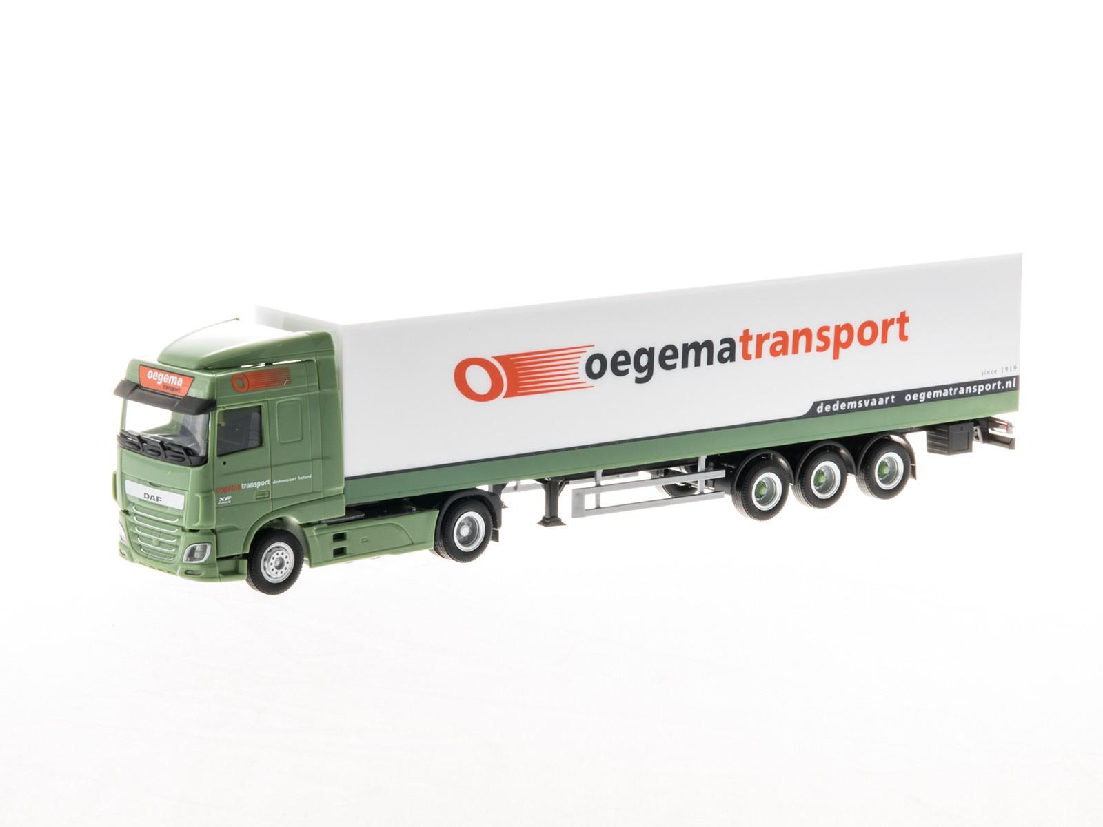 "Herpa 307932 H0 DAF XF SC Sattelzug ""oegema Transport"""