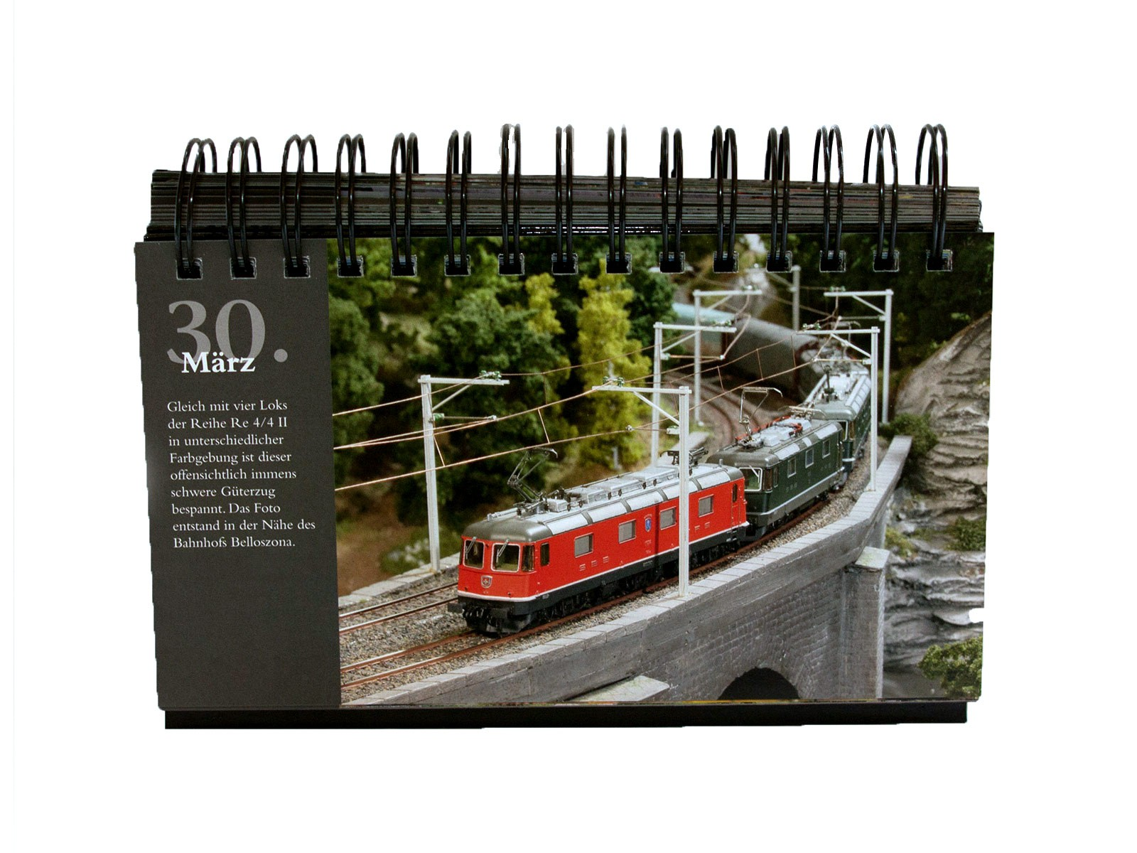 Miniatur Wunderland - perpetual calendar - with 366 pictures