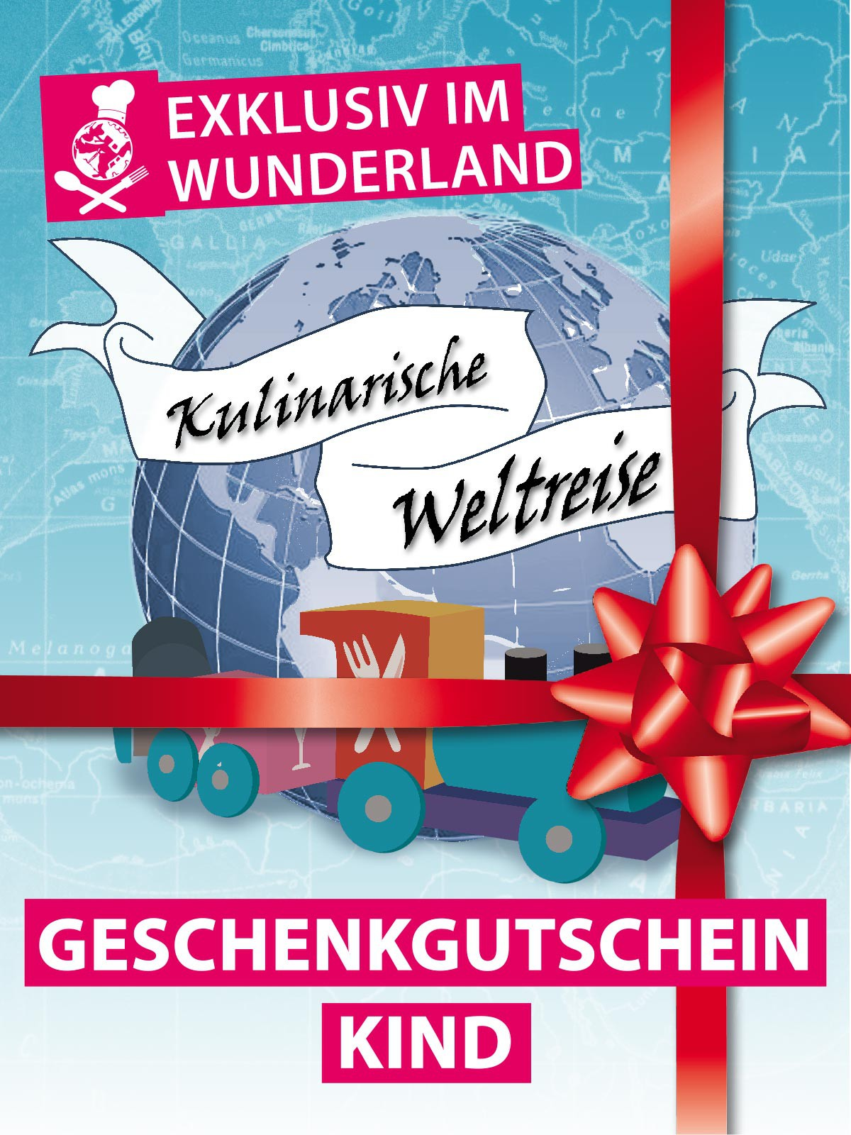 """Culinary Trip around the World"" Gift Voucher for Children (up to 15)"