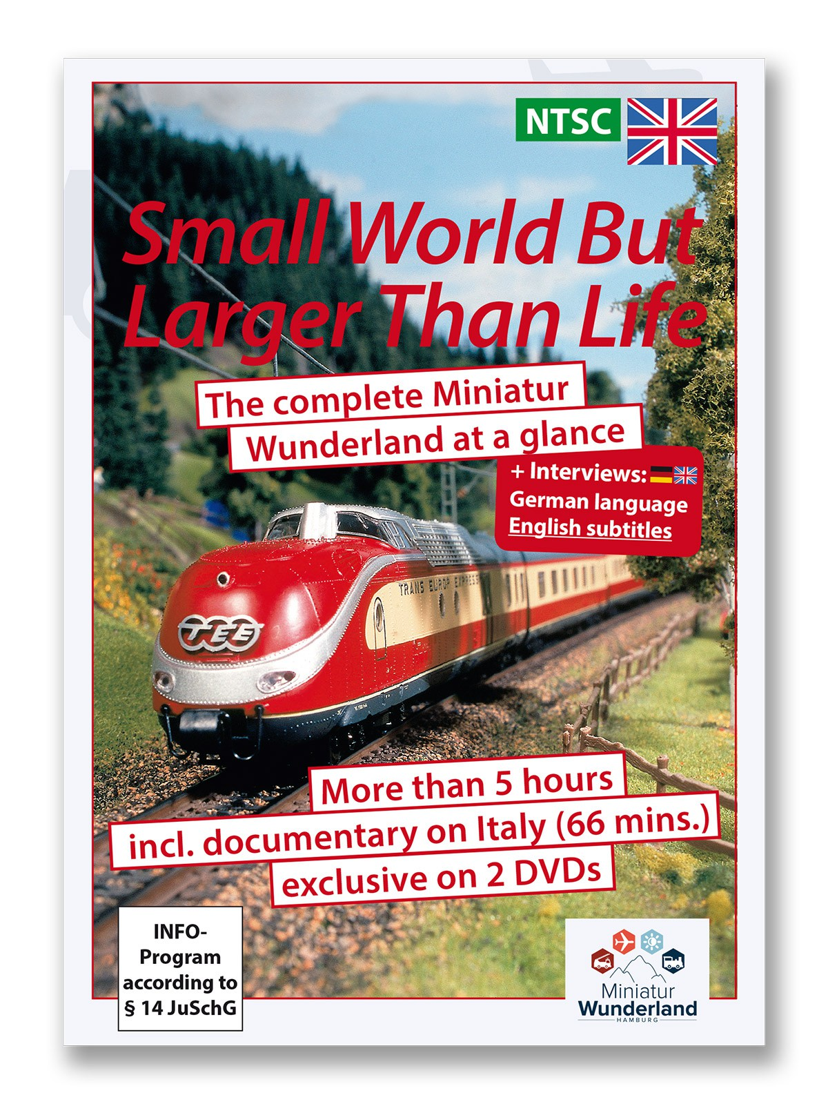 "DVD "" A small world, but larger than life\"" NTSC-System"
