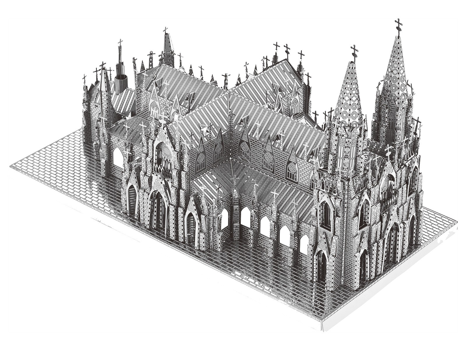 3D Metal Model St Patrick's Cathedral